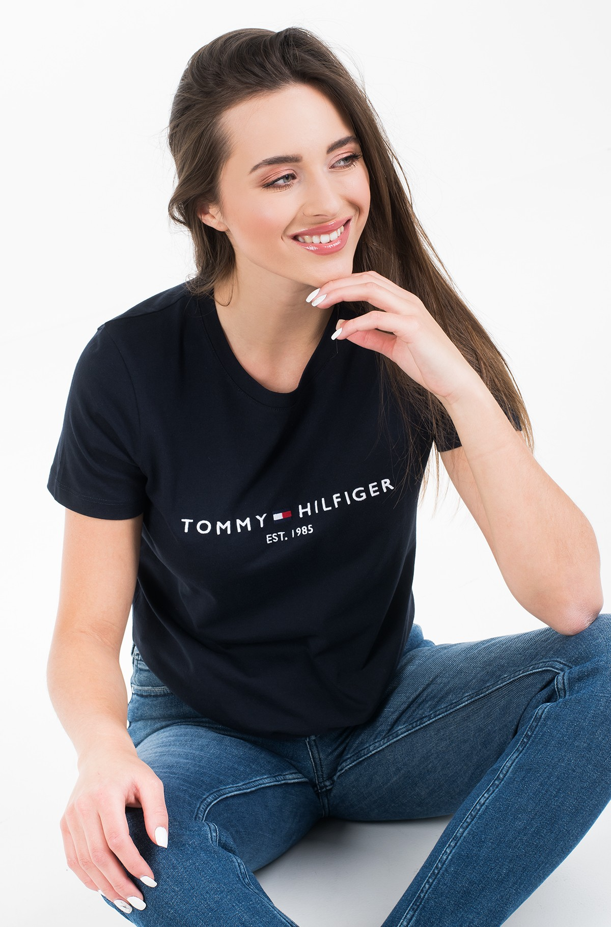 T-shirt NEW TH ESS HILFIGER C-NK TEE SS-full-1