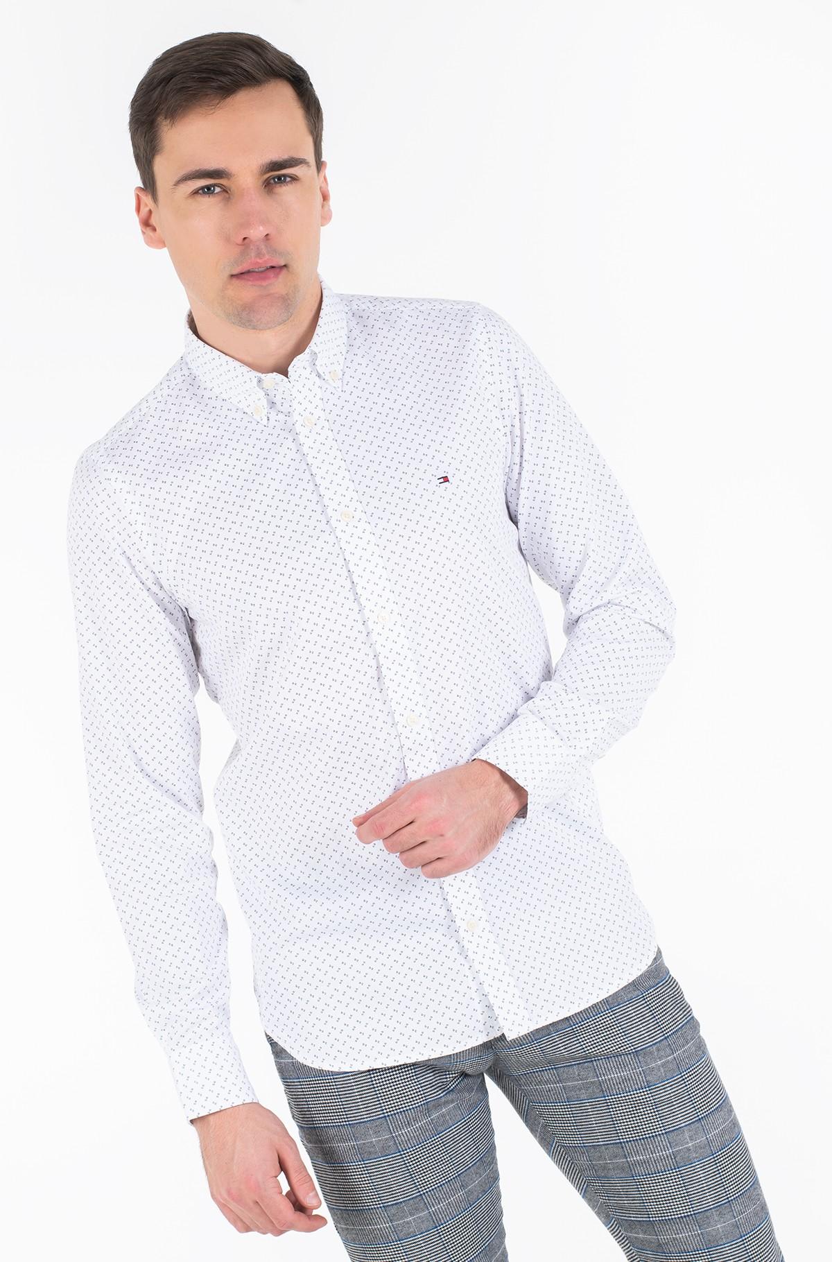 Shirt SLIM GEO PRINT SHIRT-full-3