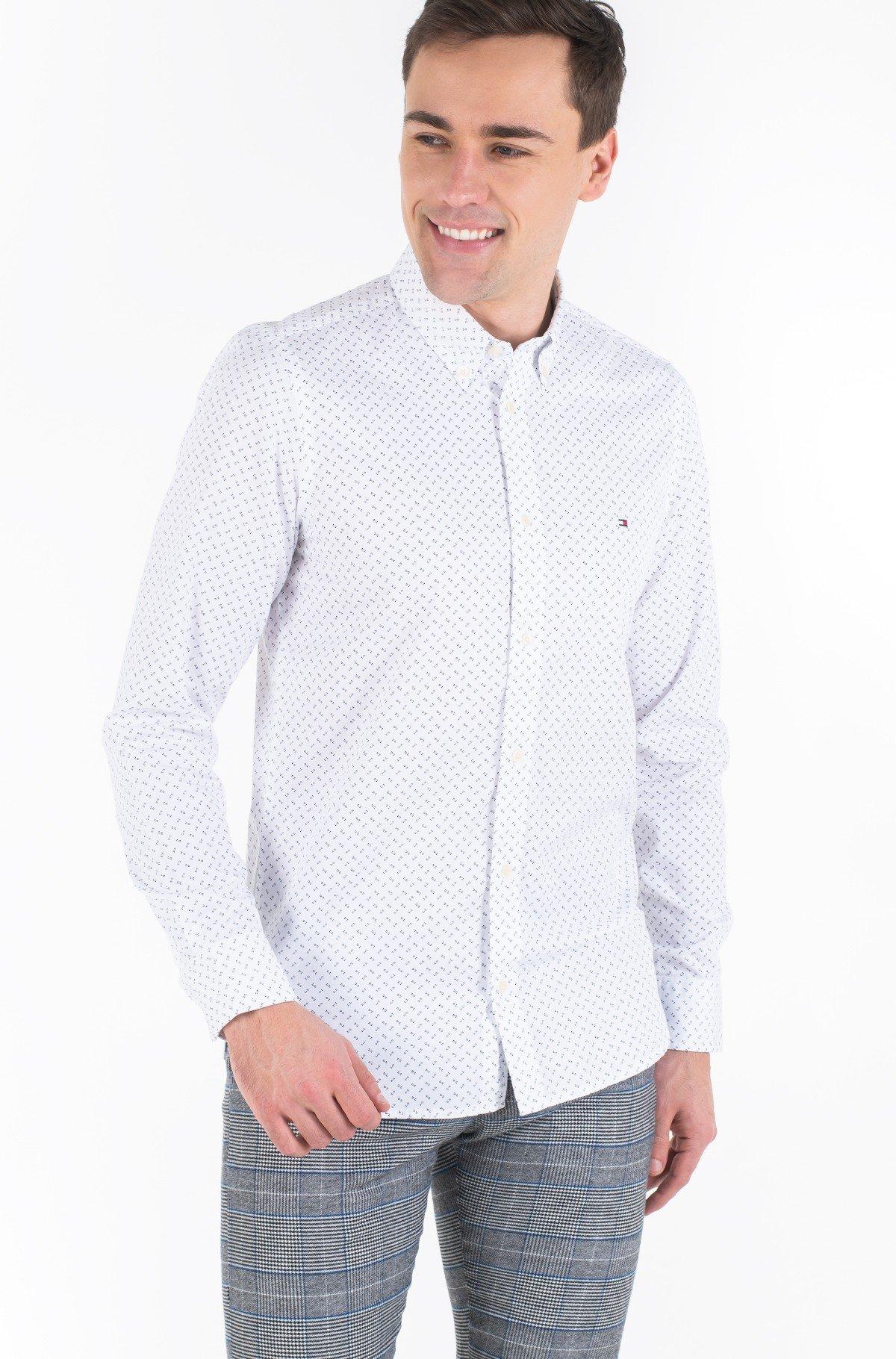 Shirt SLIM GEO PRINT SHIRT-full-1