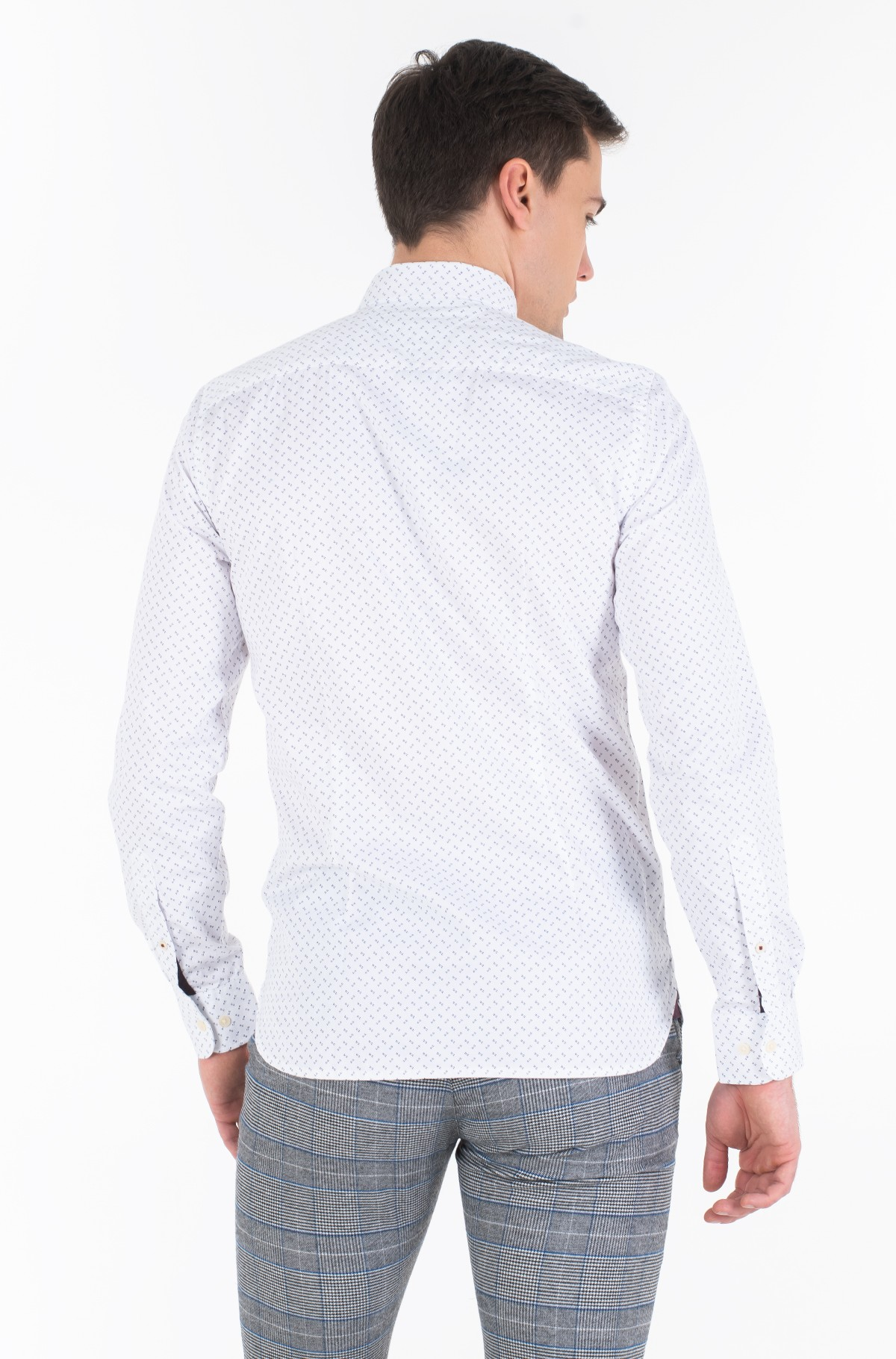 Shirt SLIM GEO PRINT SHIRT-full-4