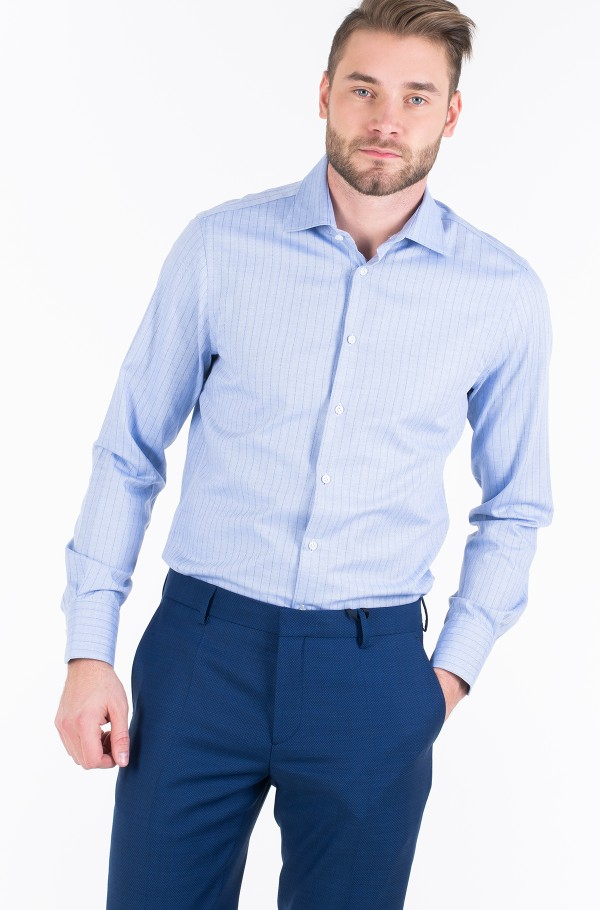 LUXURY STRIPE CLASSIC SLIM SHIRT