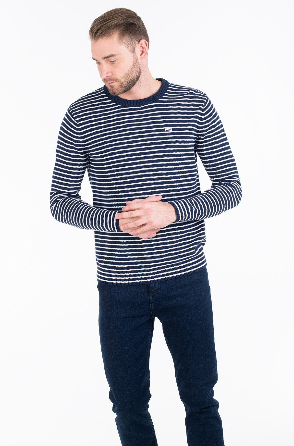 Džemperis TJM ESSENTIAL STRIPE SWEATER-full-1