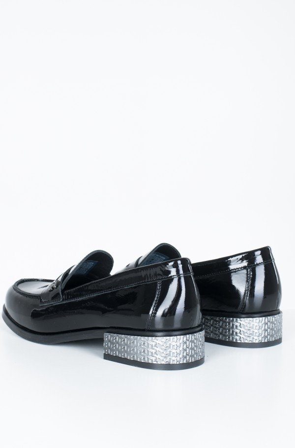 ELEVATED PATENT JEWELED LOAFER