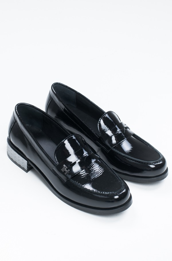 ELEVATED PATENT JEWELED LOAFER-hover