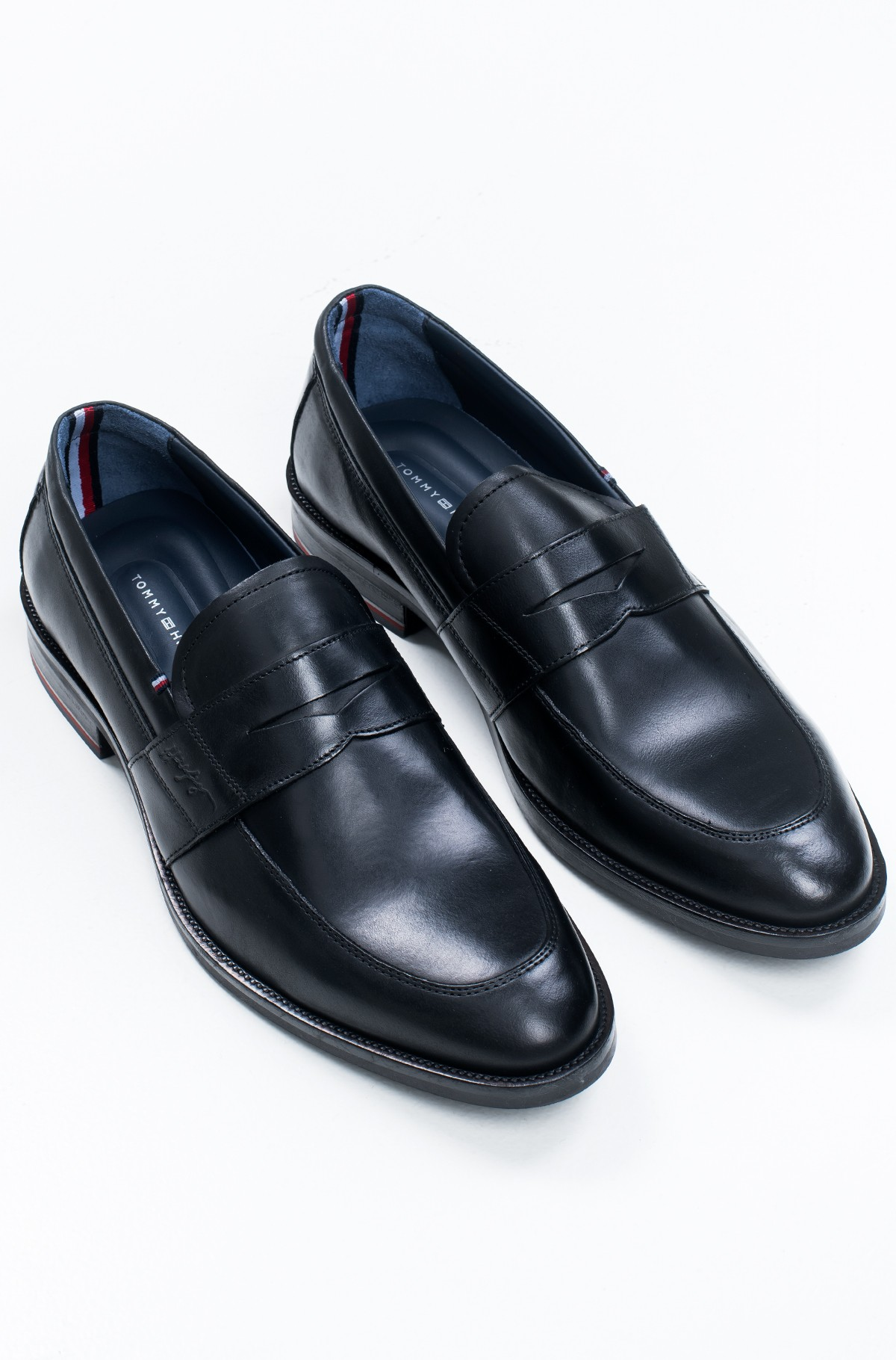 Moccasins  SIGNATURE SMOOTH LEATHER LOAFER-full-1