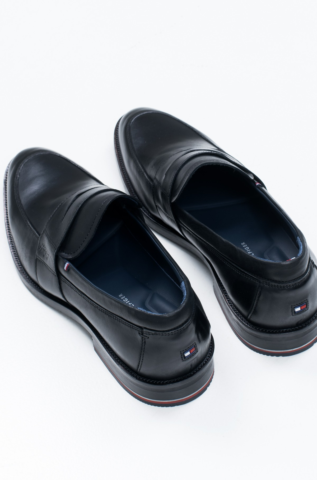 Moccasins  SIGNATURE SMOOTH LEATHER LOAFER-full-2