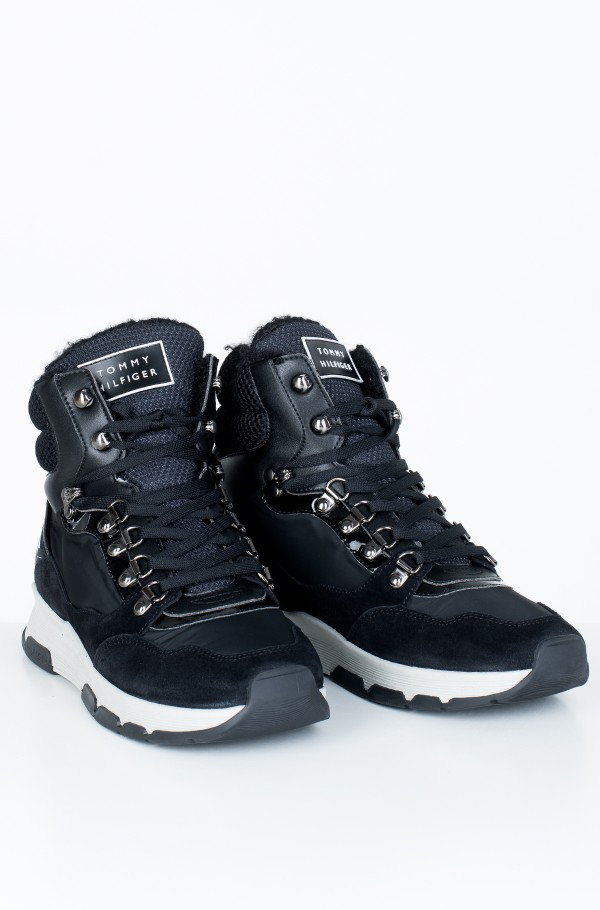 PATENT FASHION SPORTY BOOT