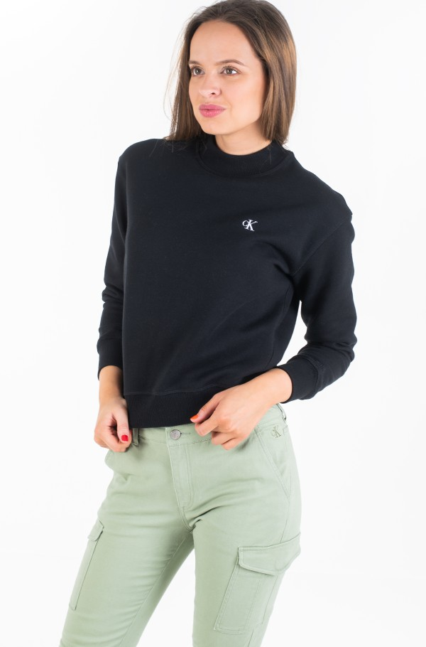 CK EMBROIDERY REGULAR CREW NECK-hover