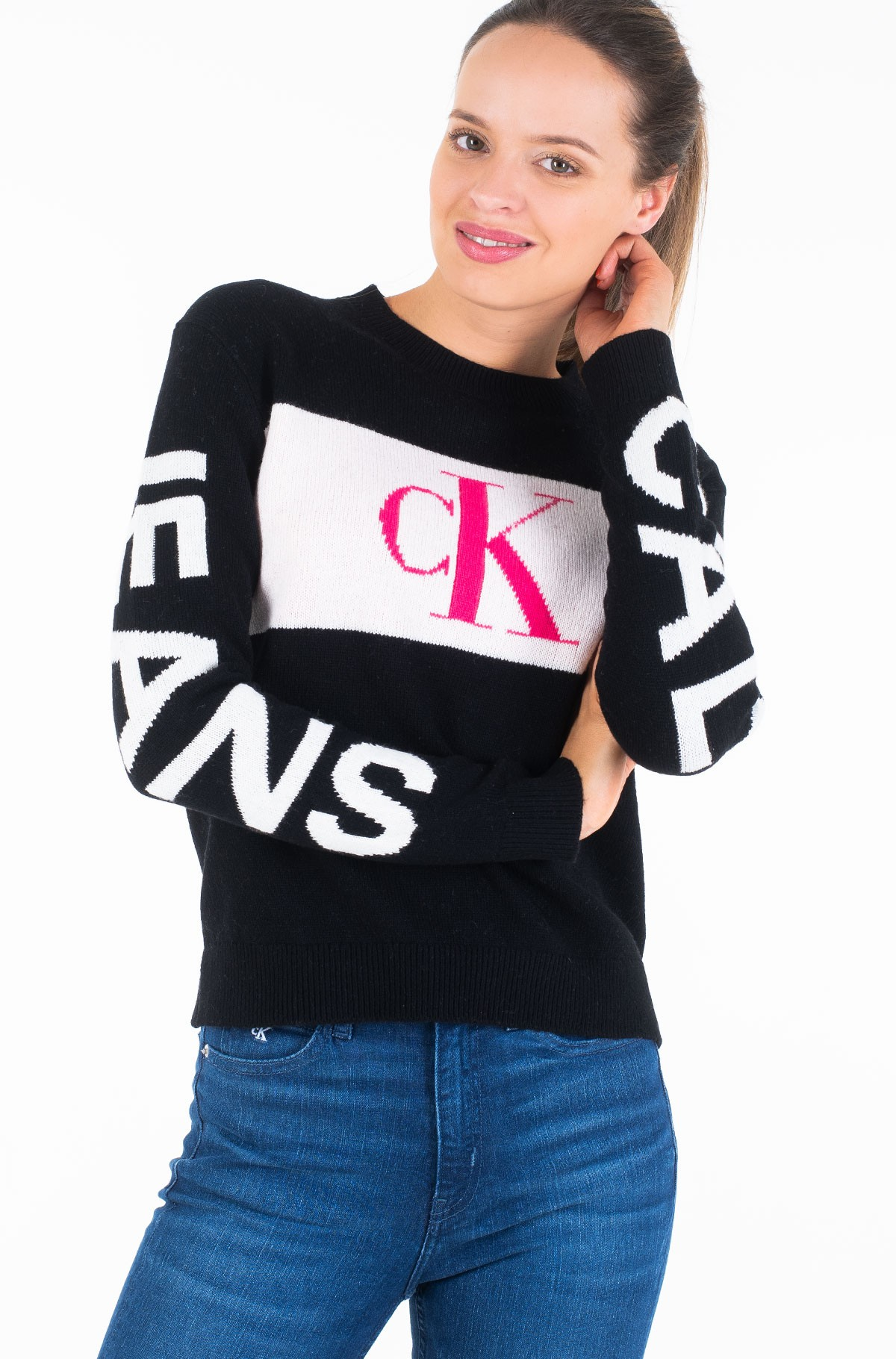 Megztinis STATEMENT LOGO SWEATER-full-1