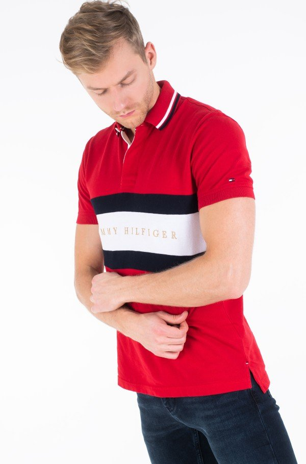 ICONIC CHEST STRIPE REGULAR POLO