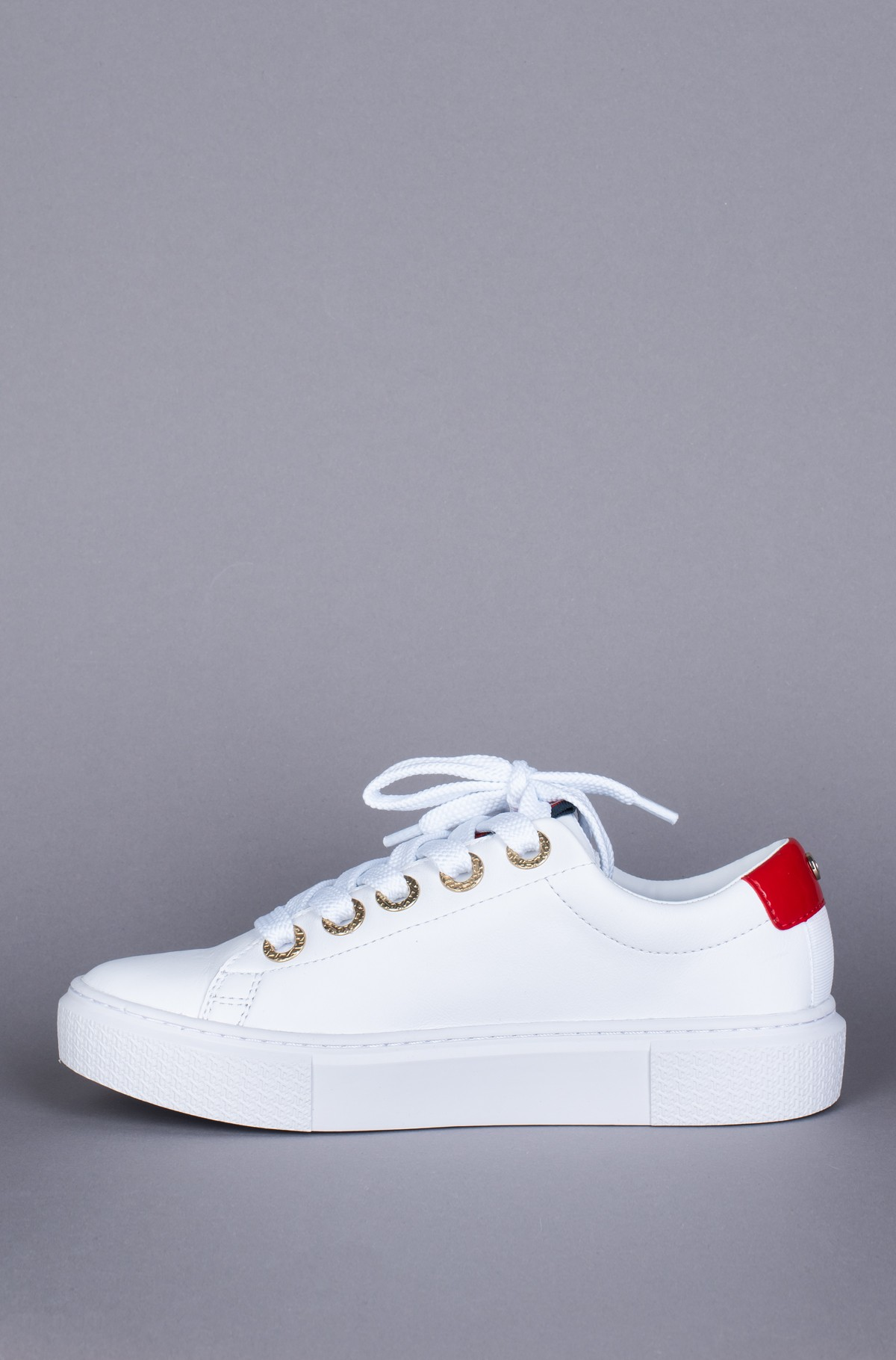 Sportiniai drabužiai LEATHER ELEVATED TOMMY SNEAKER-full-3