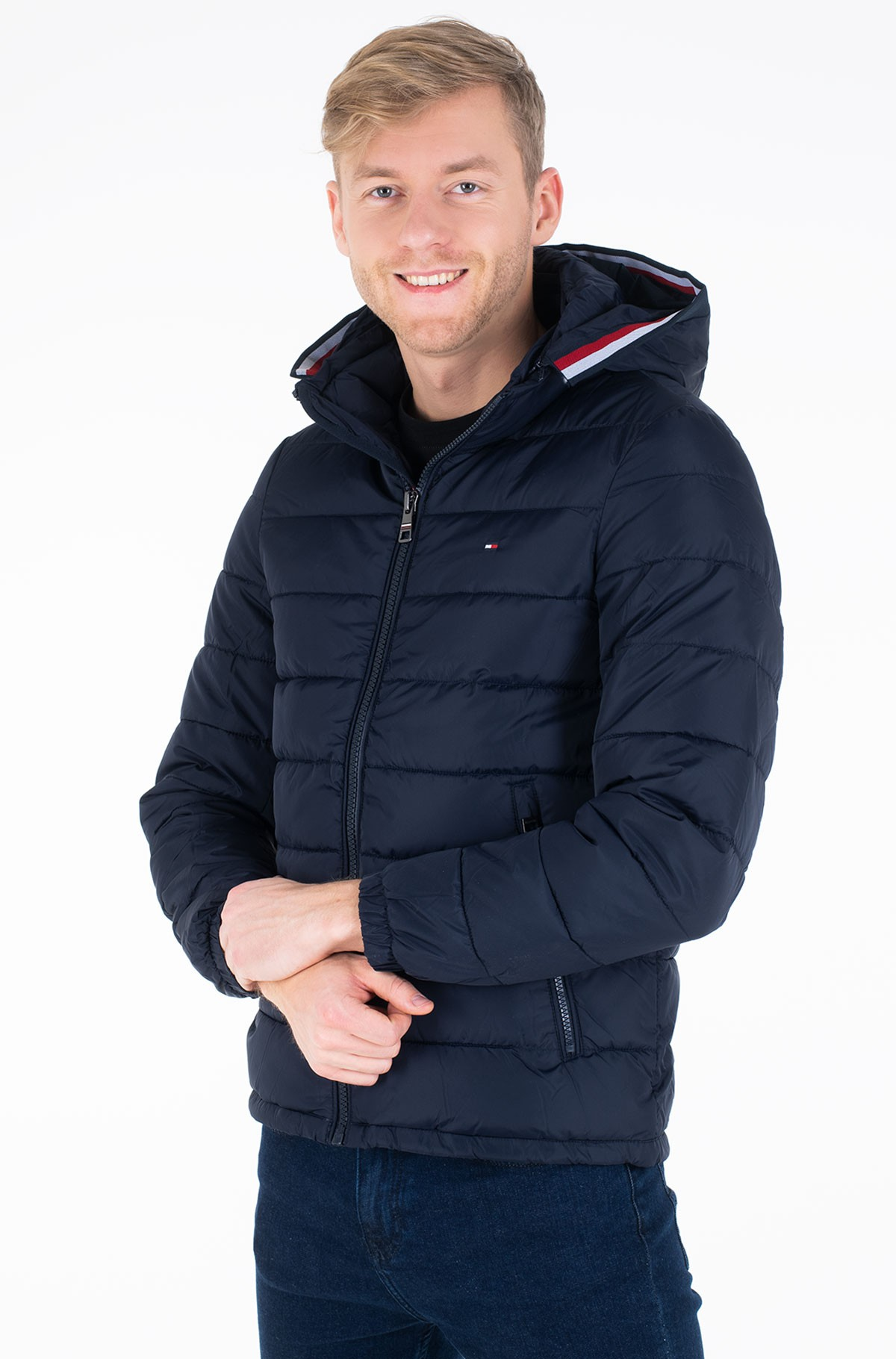 Striukė QUILTED HOODED JACKET-full-1