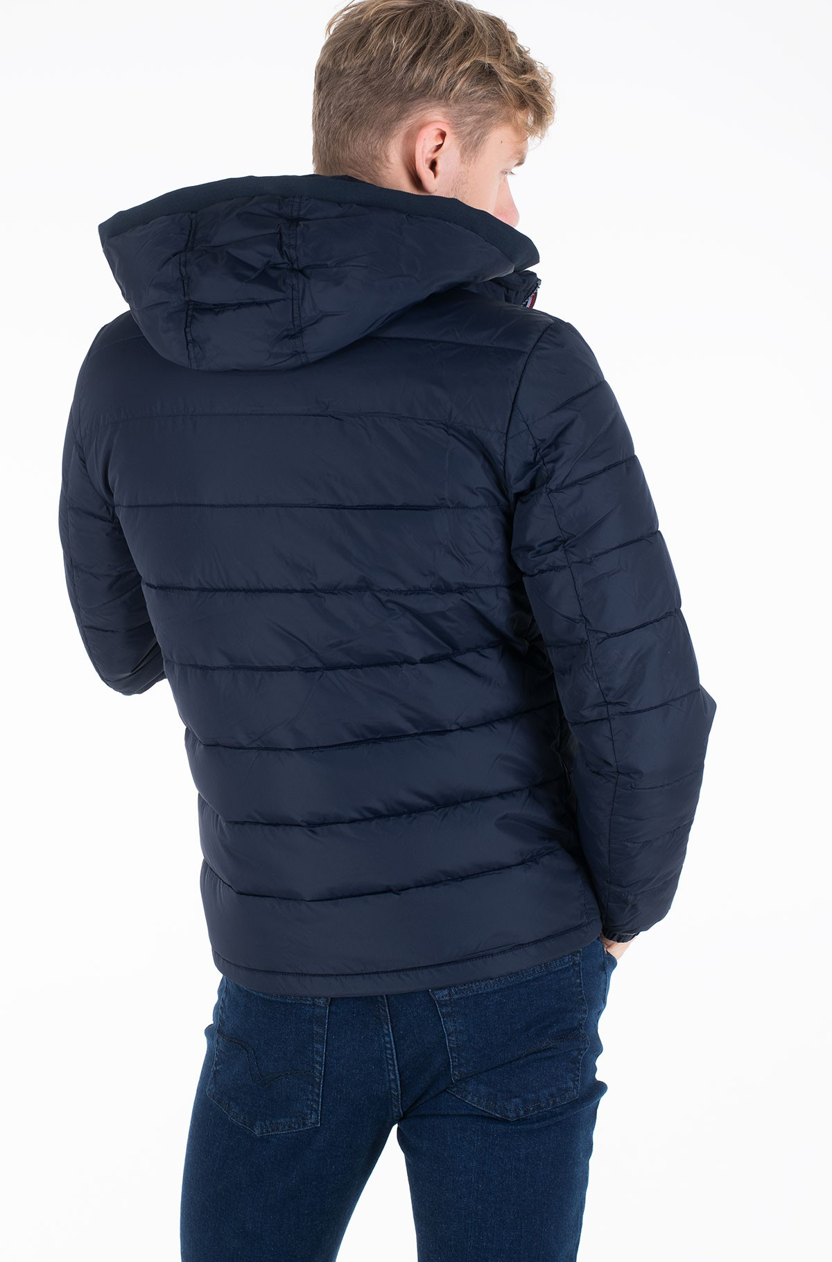 Striukė QUILTED HOODED JACKET-full-2
