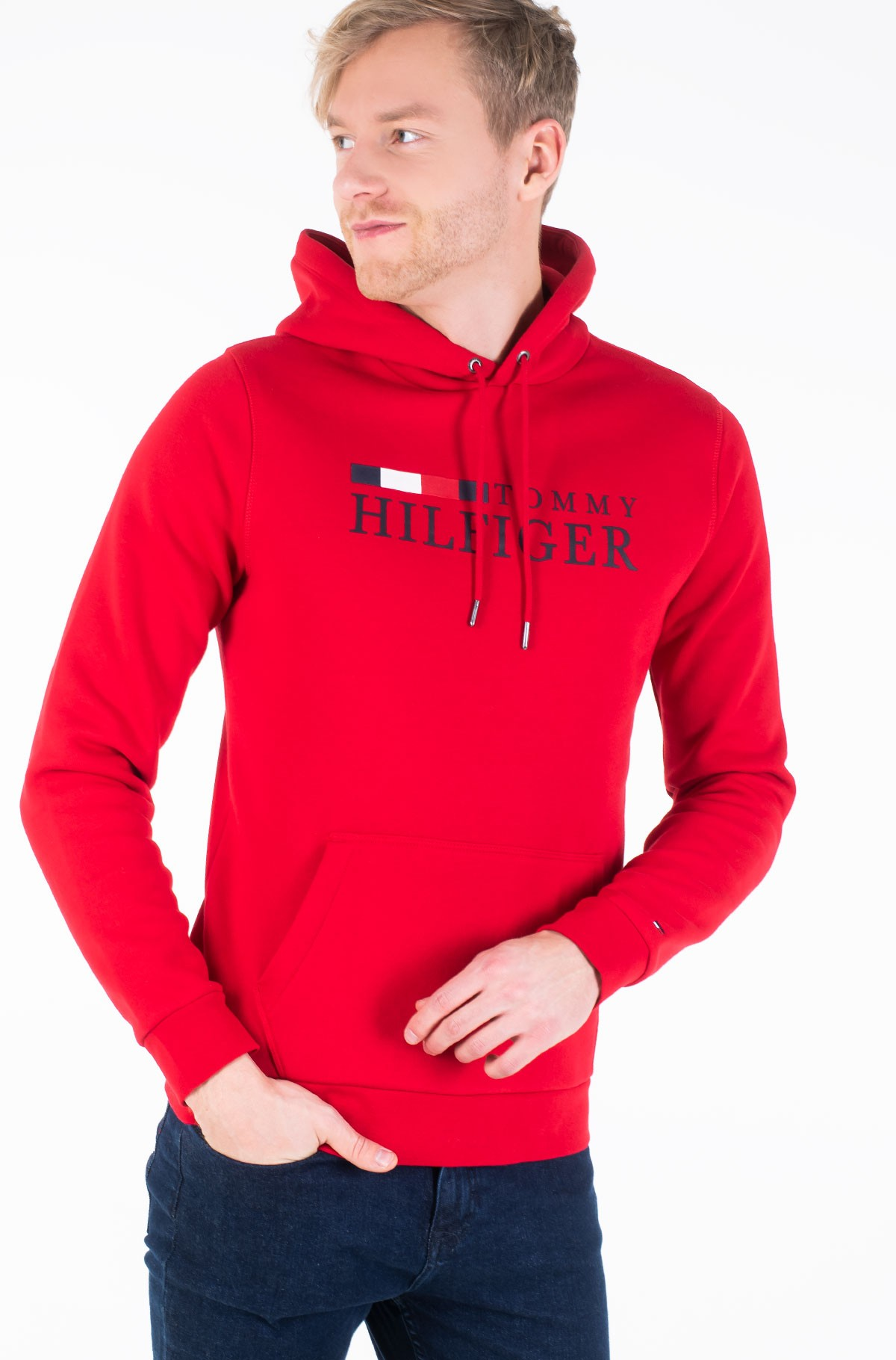 Džemperis BASIC HILFIGER HOODY-full-1
