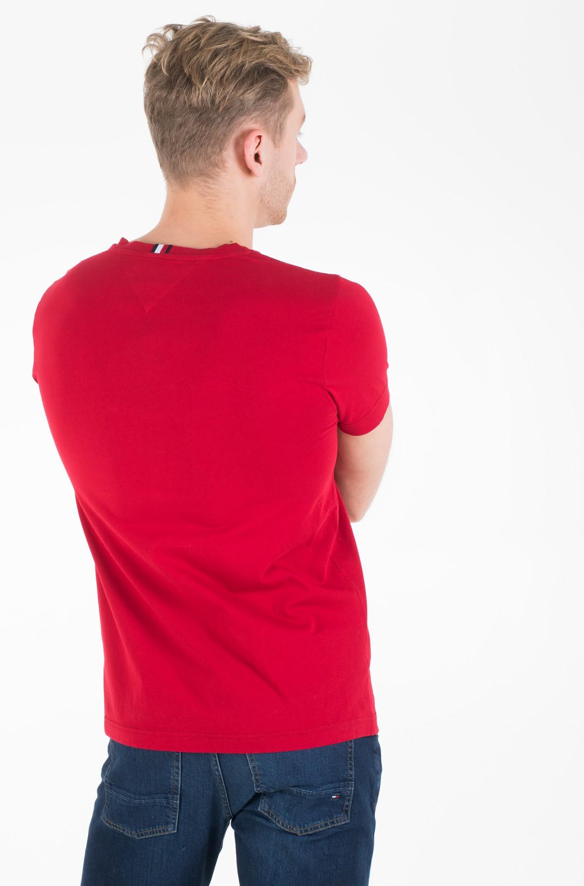 Marškinėliai LOGO CHEST STRIPE TEE-full-2