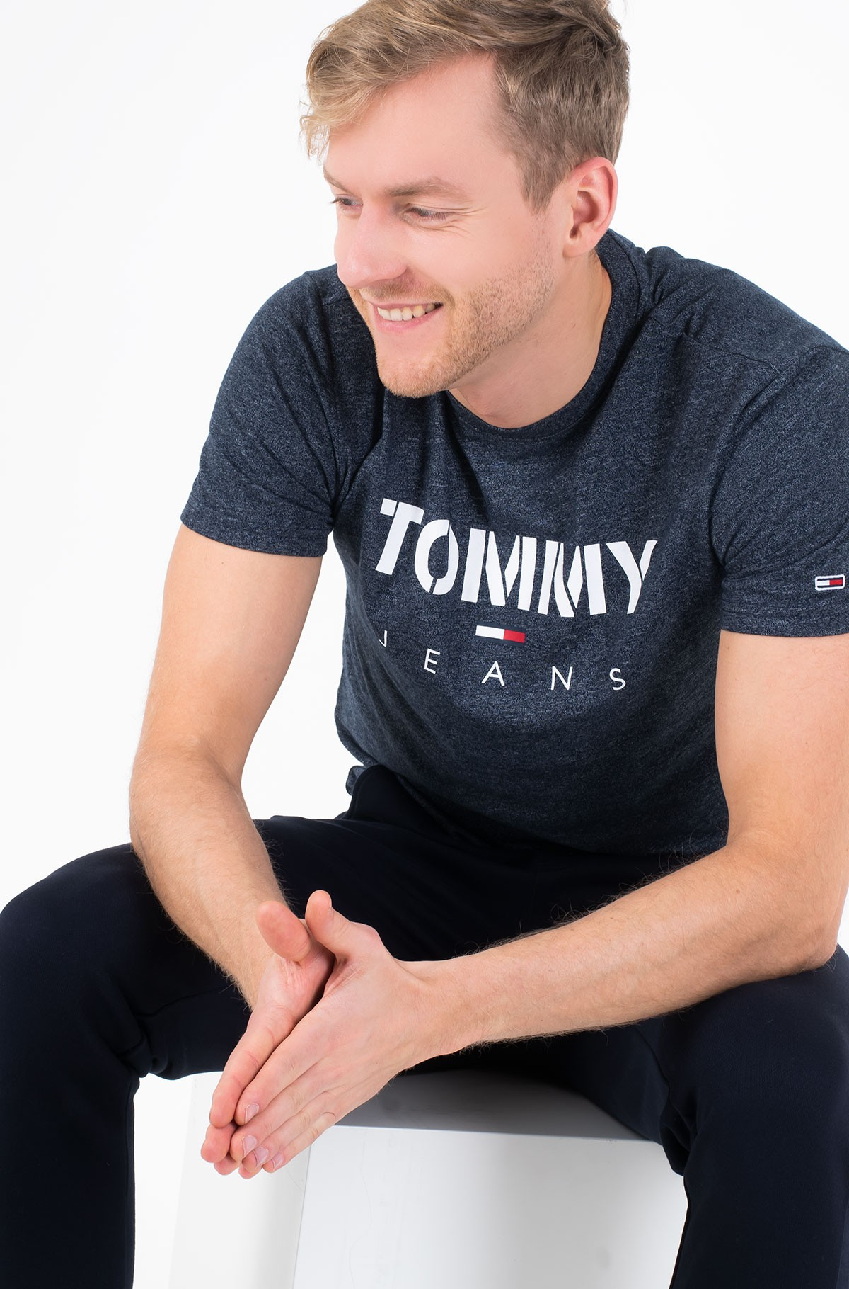 Marškinėliai TJM TOMMY TEXTURED TEE-full-1