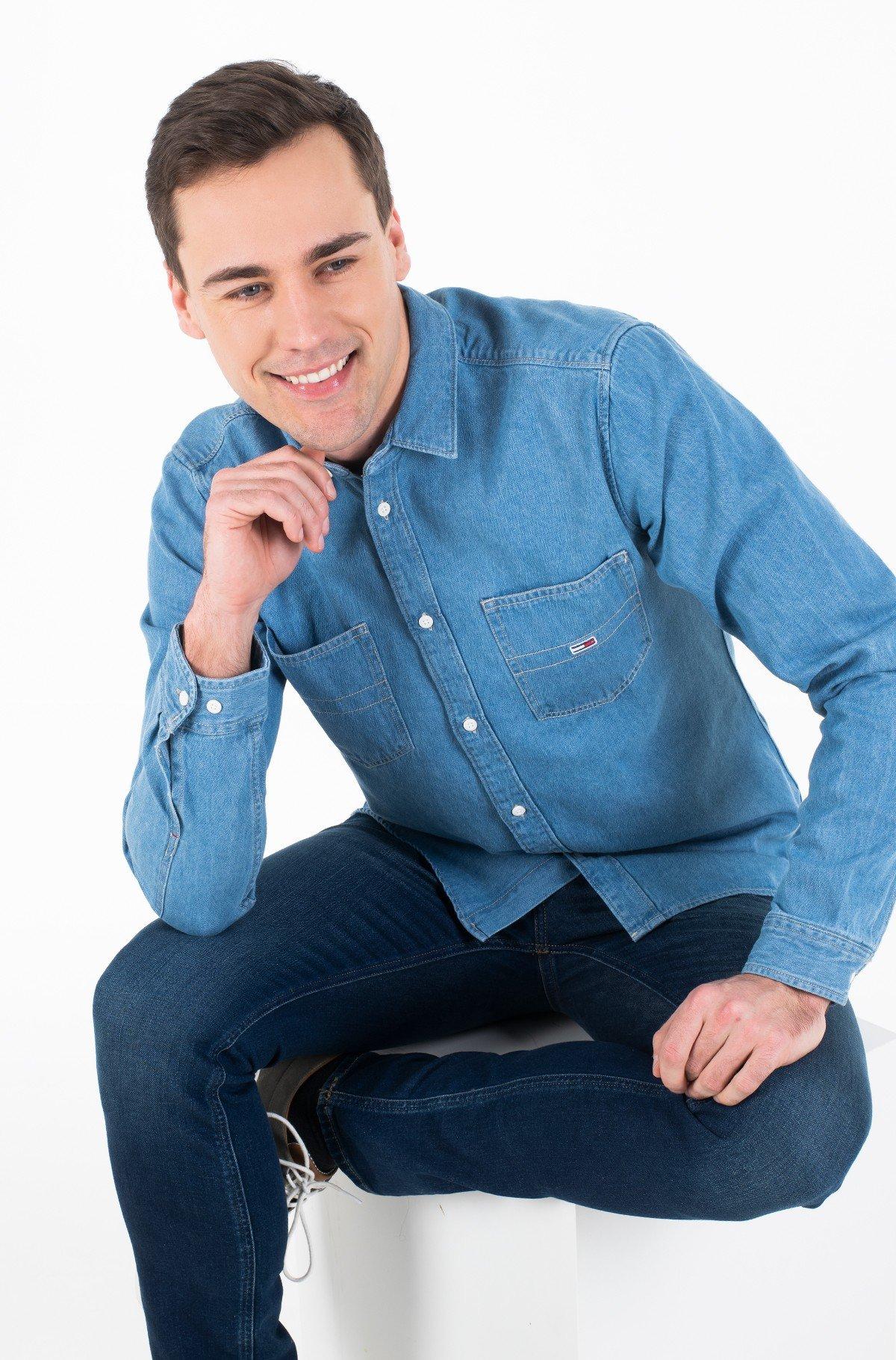Džinsiniai marškiniai TJM DENIM SHIRT-full-1
