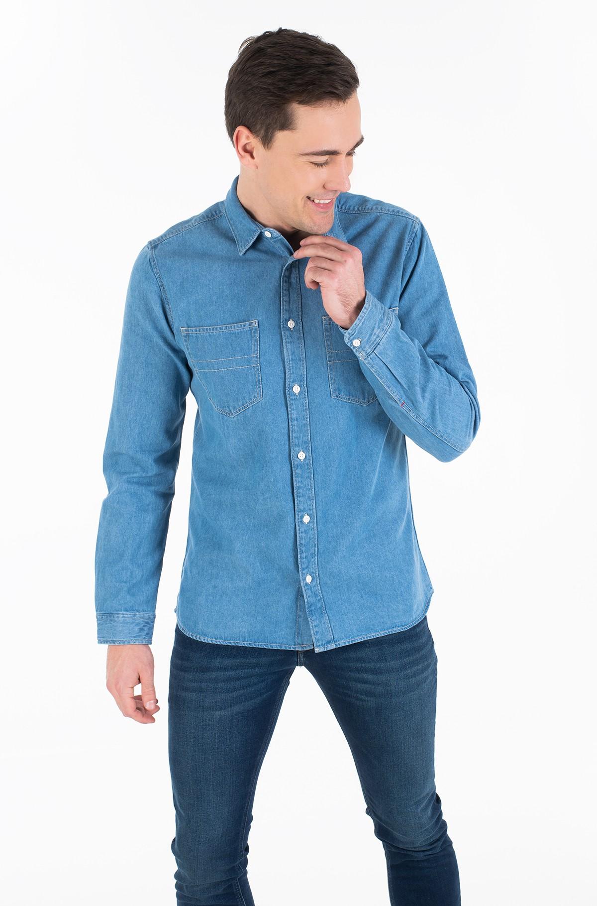 Džinsiniai marškiniai TJM DENIM SHIRT-full-2