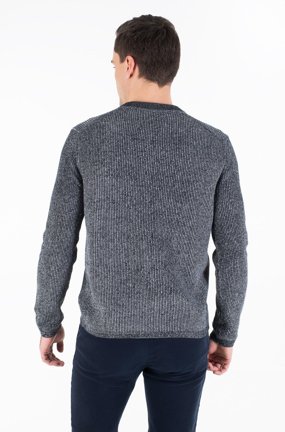 Sweater TWO TONE COTTON CN SWEATER-full-3