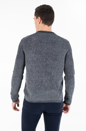 Sweater TWO TONE COTTON CN SWEATER-3