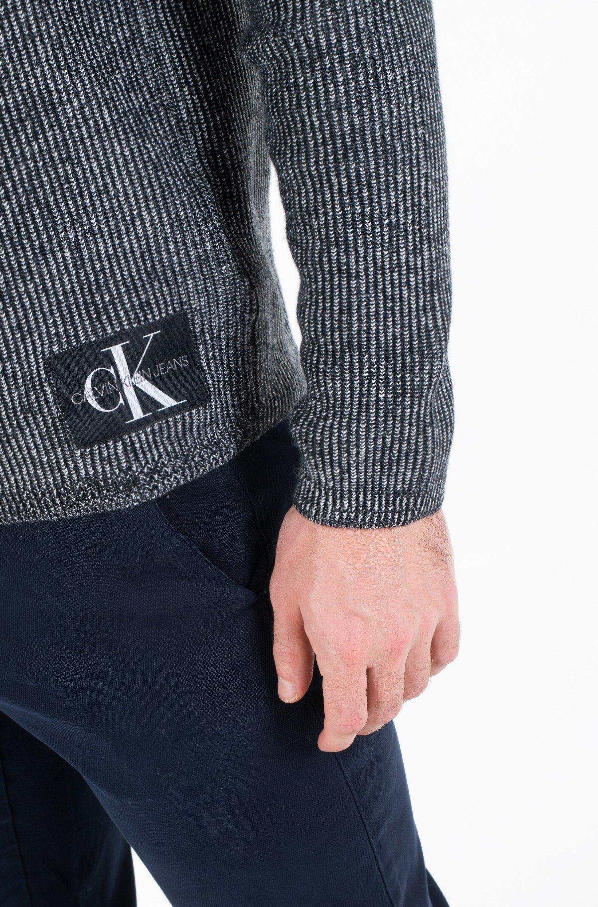 Sweater TWO TONE COTTON CN SWEATER-full-2