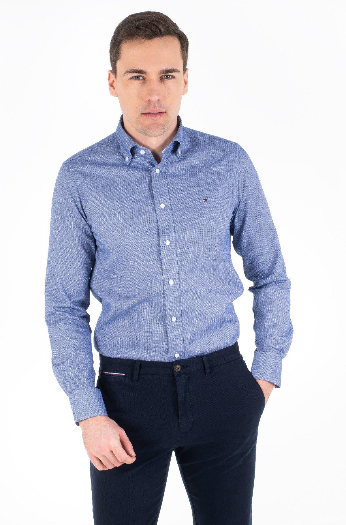Marškiniai DOBBY BUTTON DOWN SHIRT-full-1