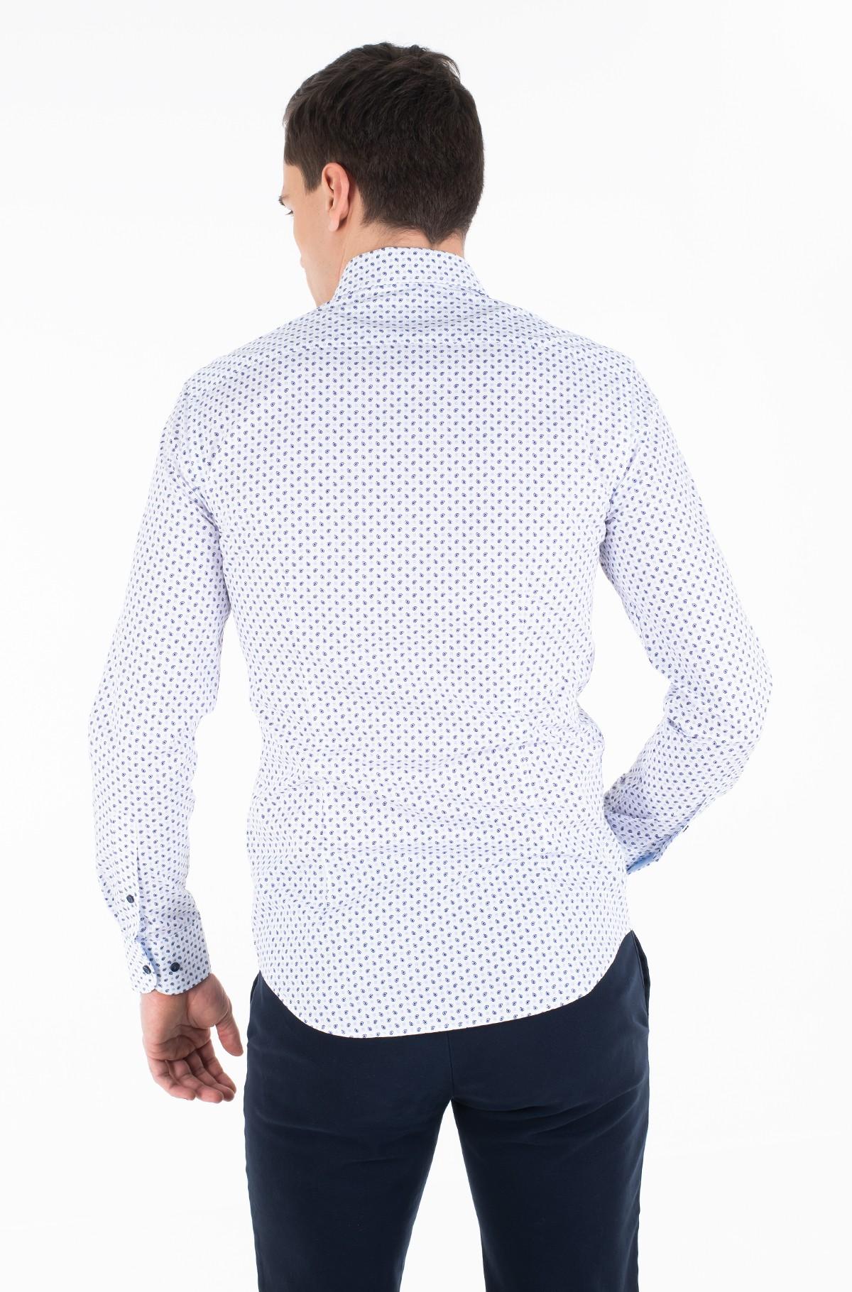 Krekls MICRO PRINT CLASSIC SLIM SHIRT-full-3