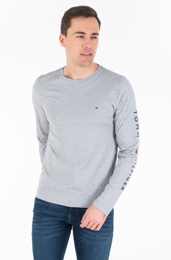 TOMMY LOGO LONG SLEEVE TEE