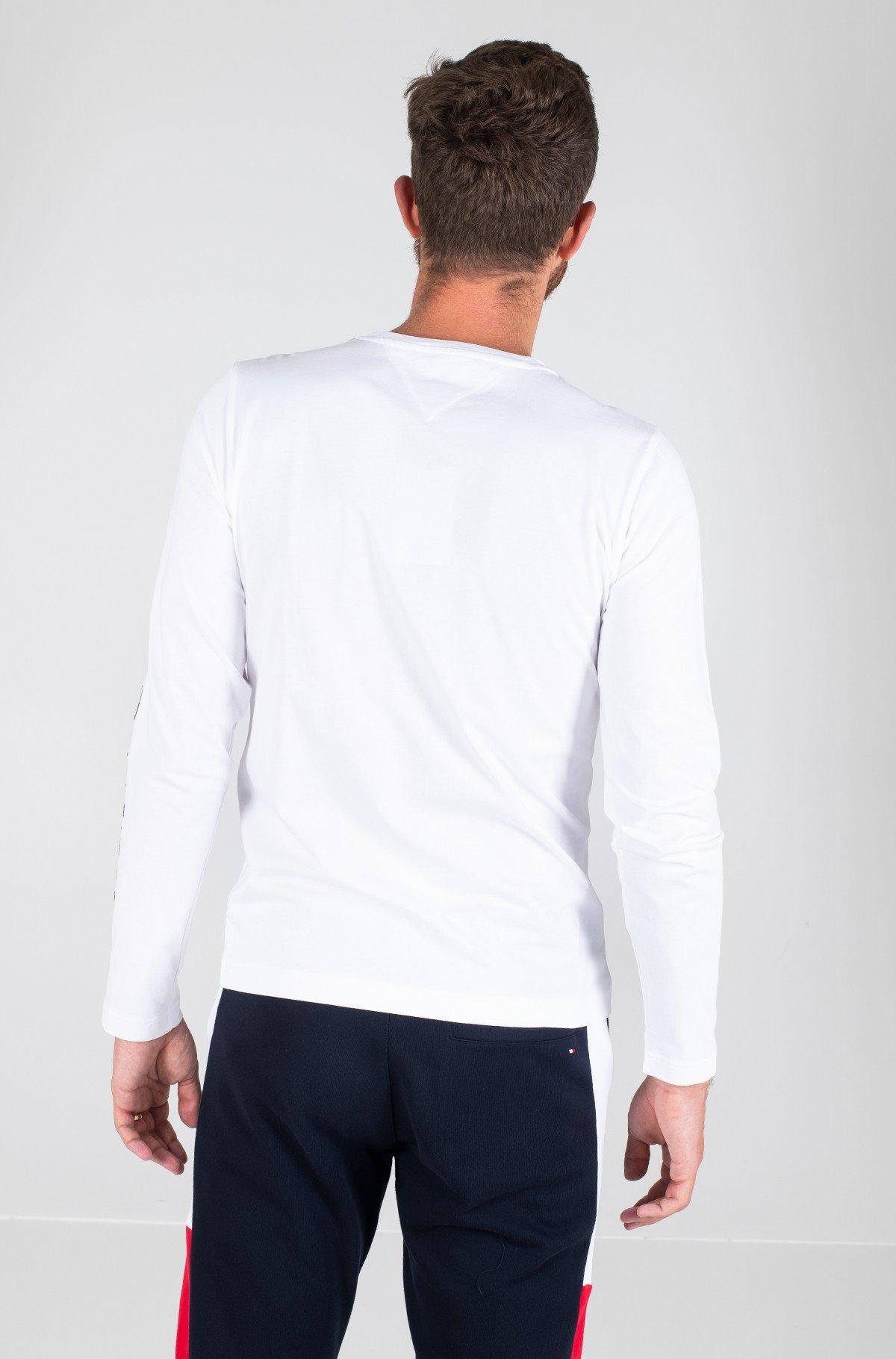 Long sleeved t-shirt TOMMY LOGO LONG SLEEVE TEE-full-2