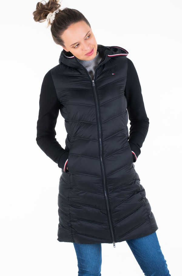 BELLA HYBRID LW DOWN COAT