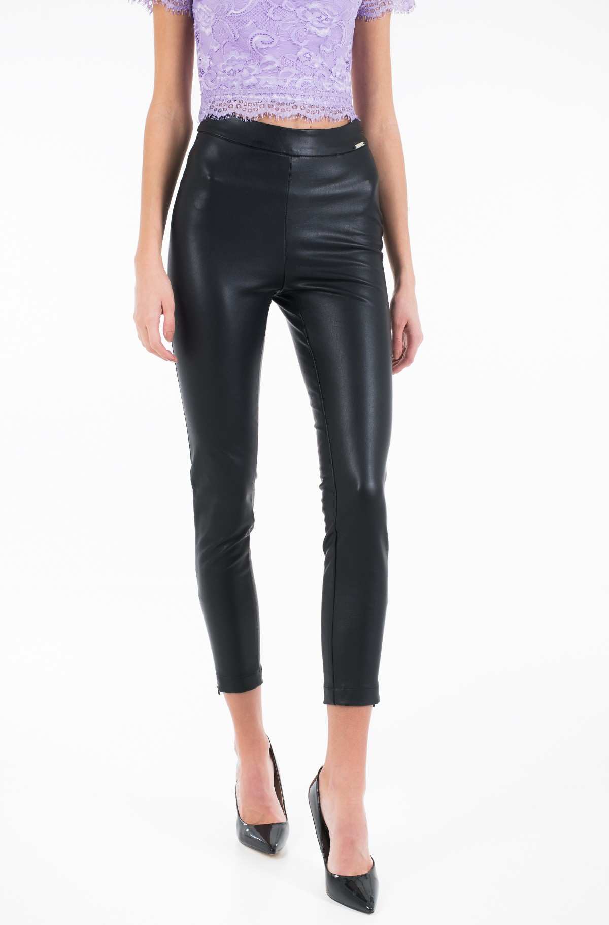 Leather pants W01B65 WBG60-full-1