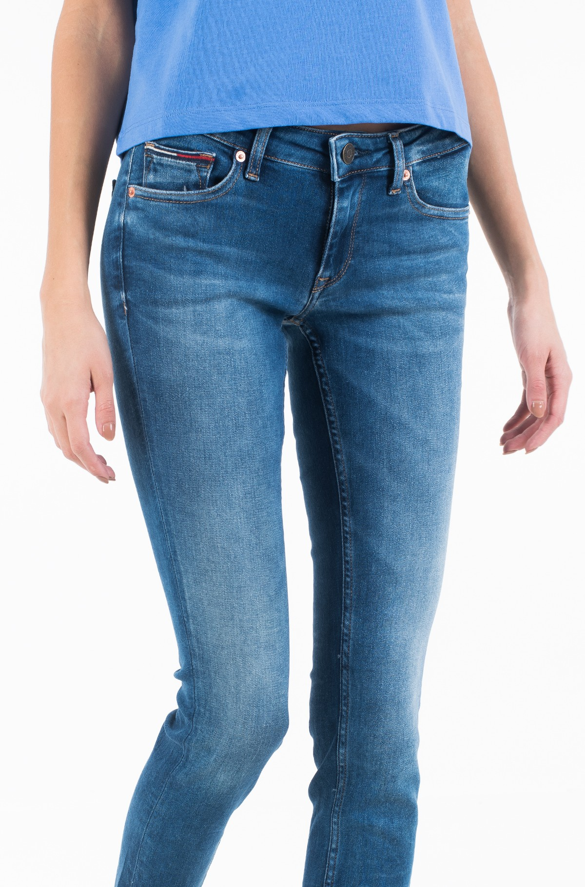 Džinsinės kelnės SOPHIE LOW RISE SKINNY MNM-full-2