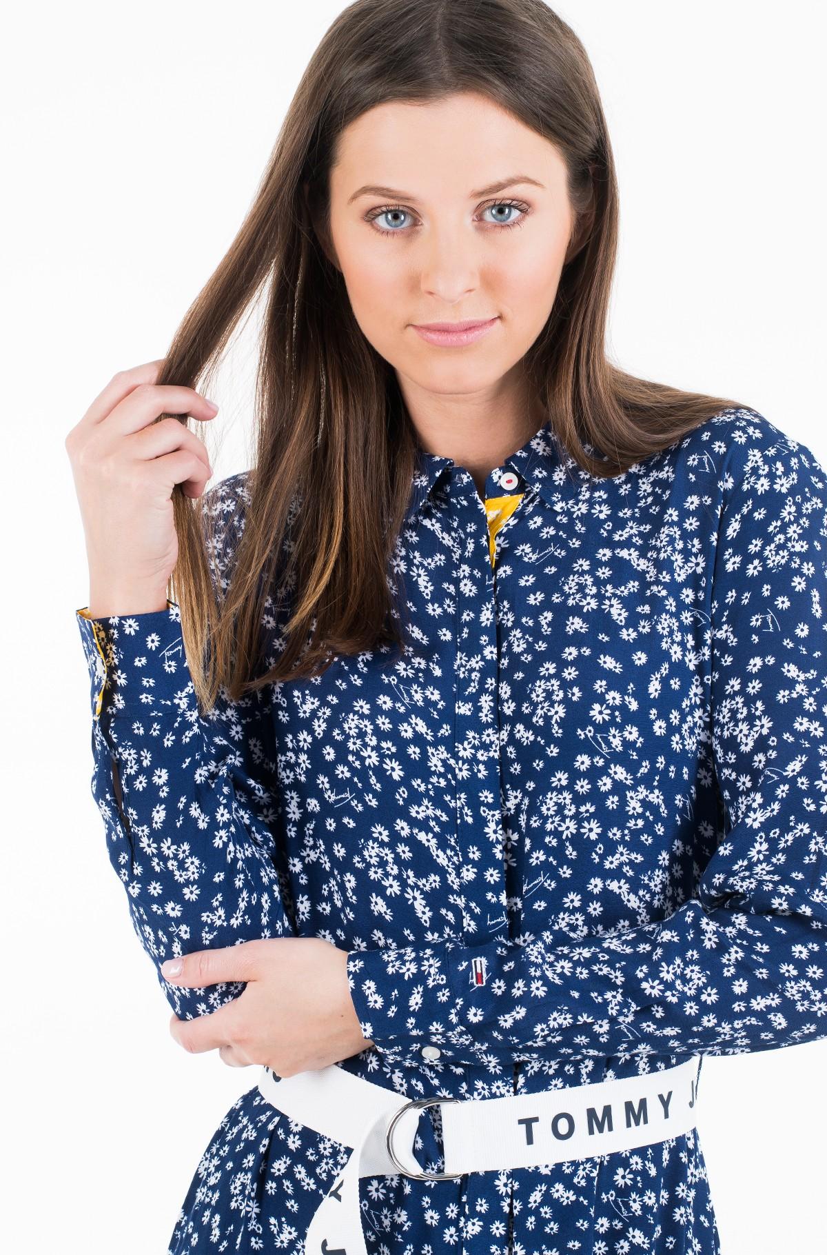 Kleit TJW PRINT MIX SHIRT DRESS-full-2