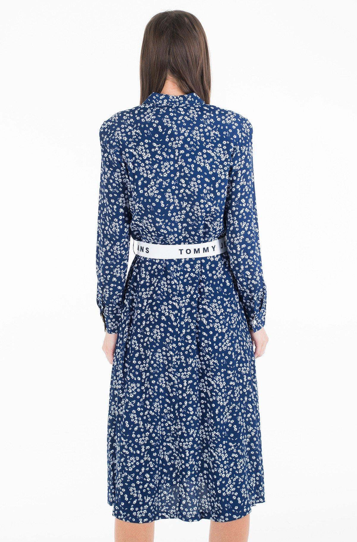 Kleit TJW PRINT MIX SHIRT DRESS-full-3