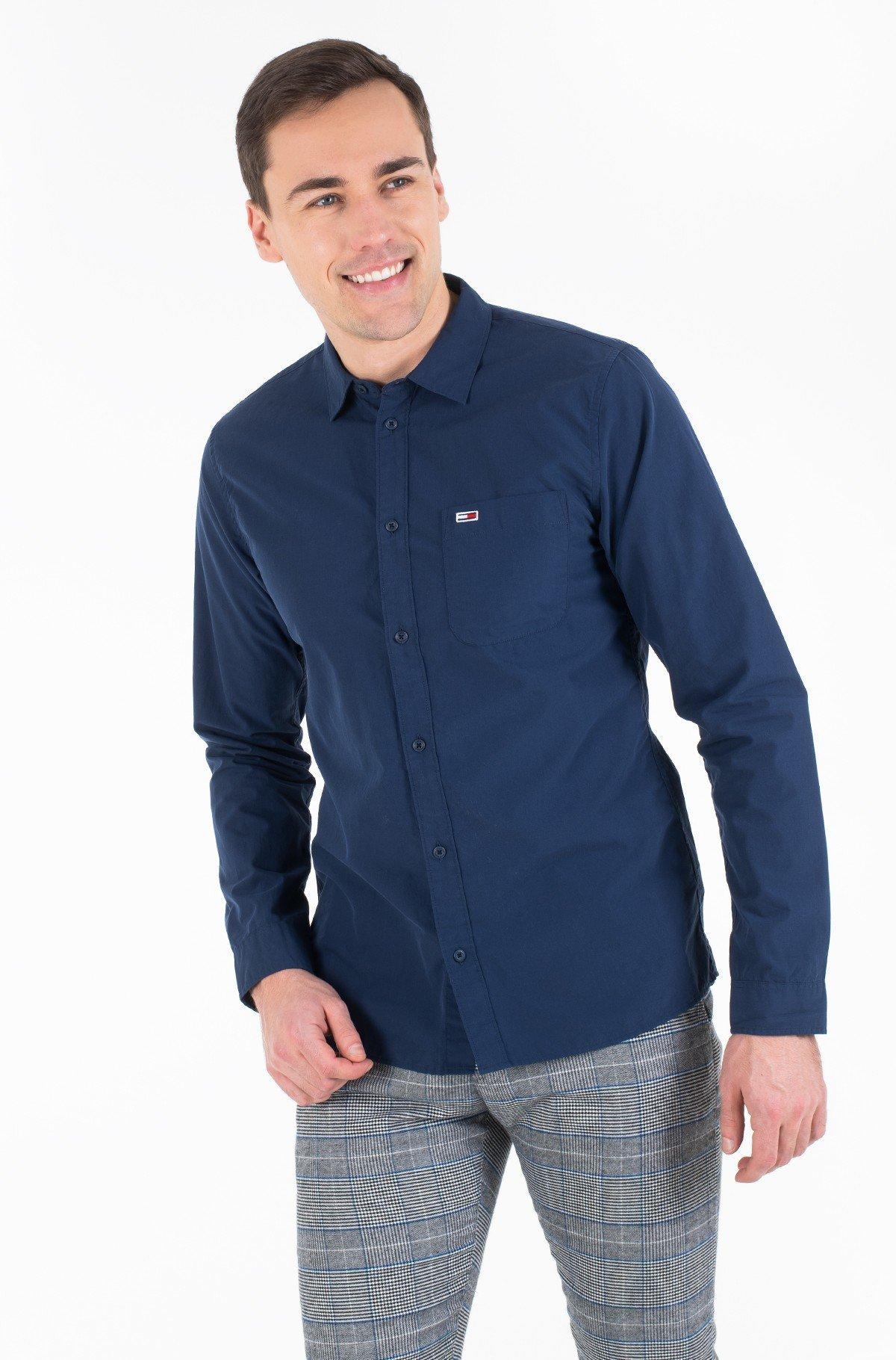 Marškiniai TJM SOLID POPLIN SHIRT-full-1