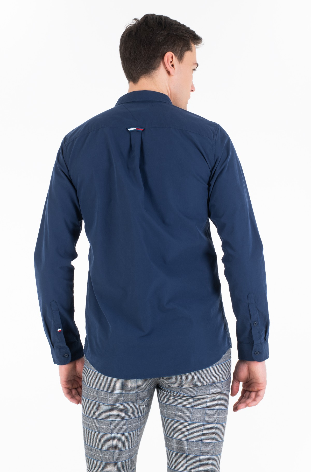 Marškiniai TJM SOLID POPLIN SHIRT-full-2