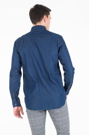 Džinsiniai marškiniai DENIM EMBROIDERY SHIRT-3