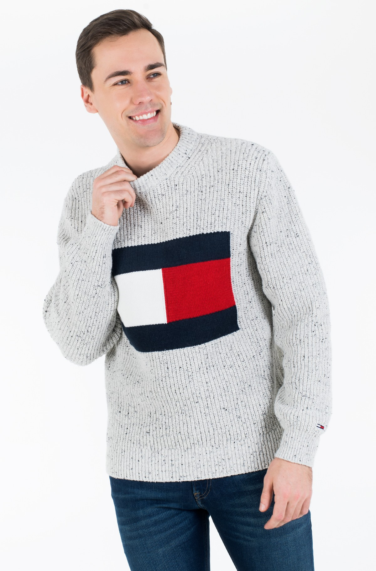Džemperis TJM TOMMY FLAG SWEATER-full-2