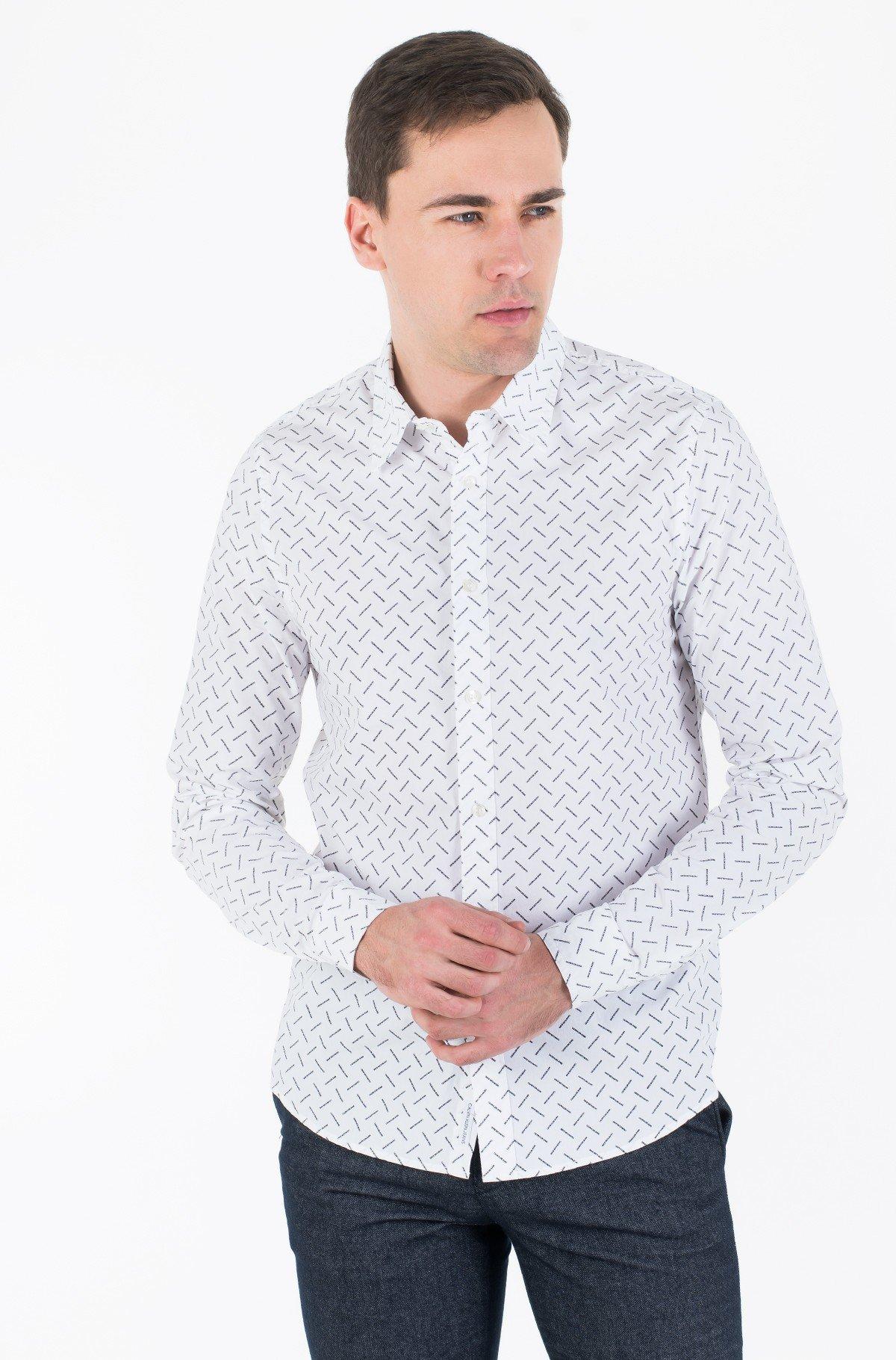 Marškiniai CK LOGO AOP SLIM STRETCH-full-1