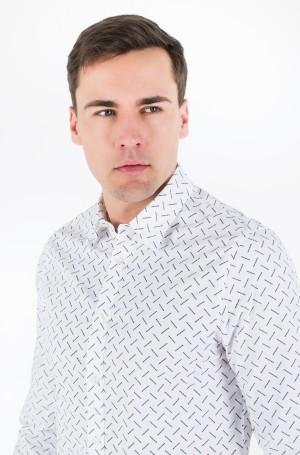 Marškiniai CK LOGO AOP SLIM STRETCH-2