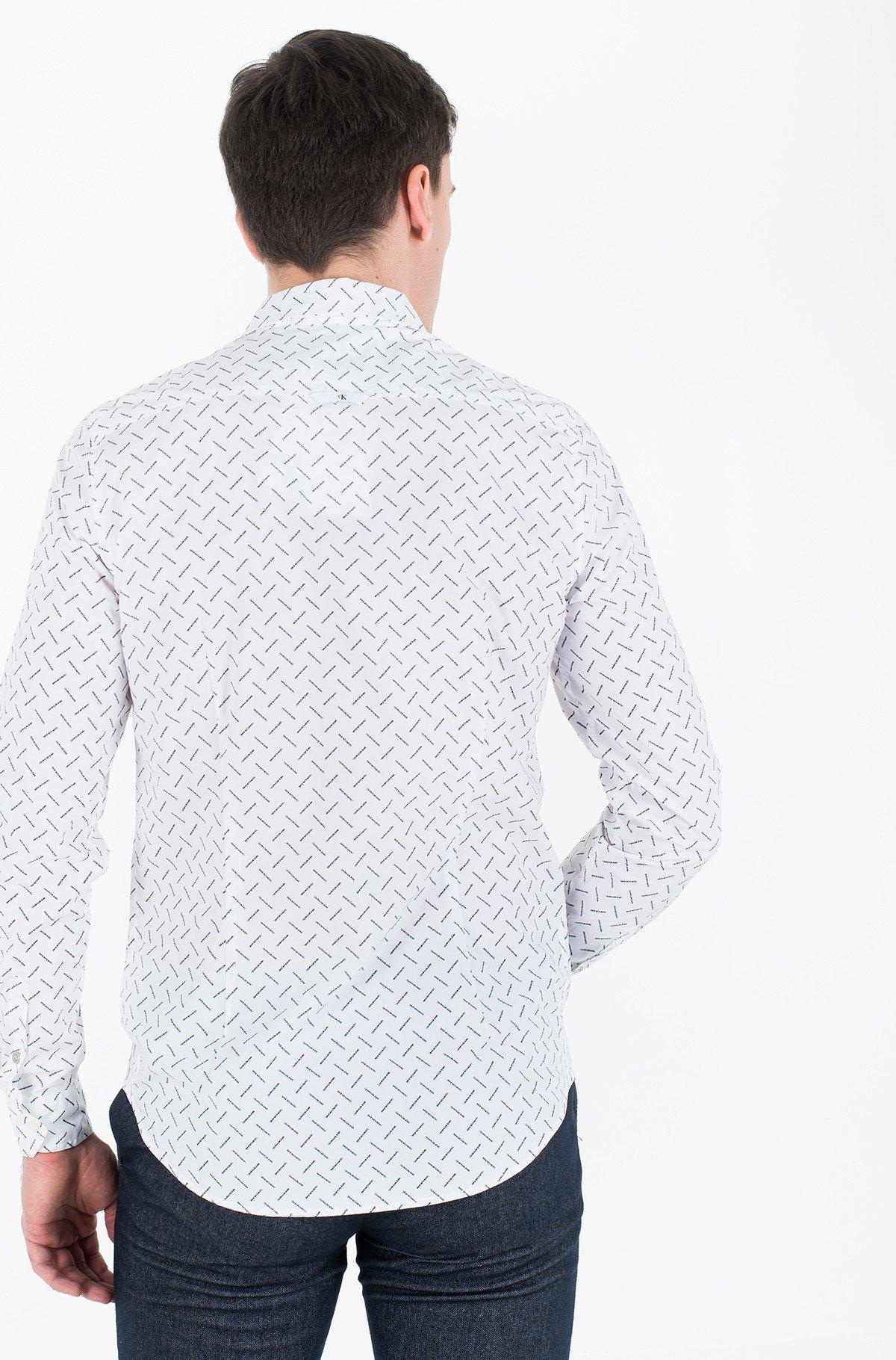 Marškiniai CK LOGO AOP SLIM STRETCH-full-3