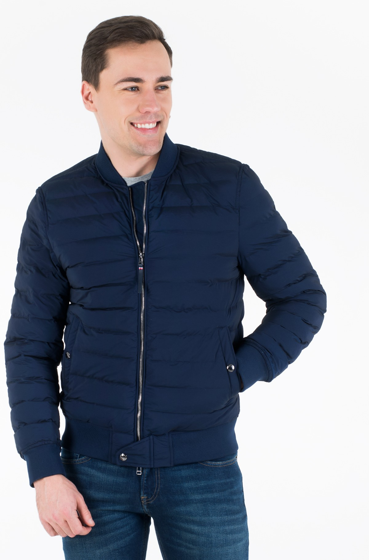 Jope STITCHLESS QUILTED BOMBER-full-1