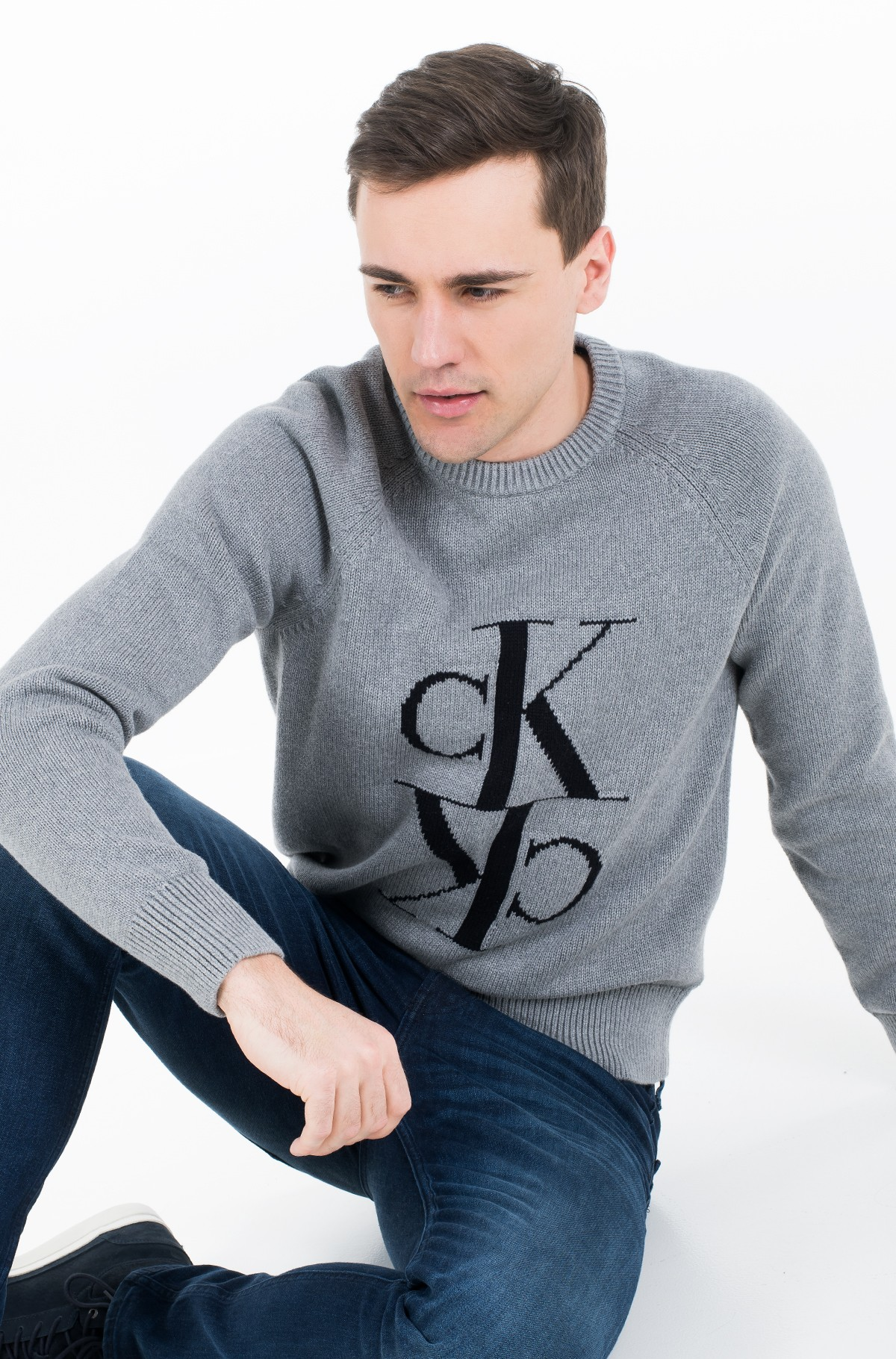 Džemperis MIRRORED MONOGRAM CN SWEATER-full-1
