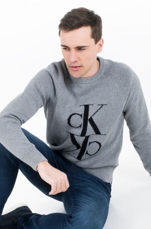Džemperis MIRRORED MONOGRAM CN SWEATER-1