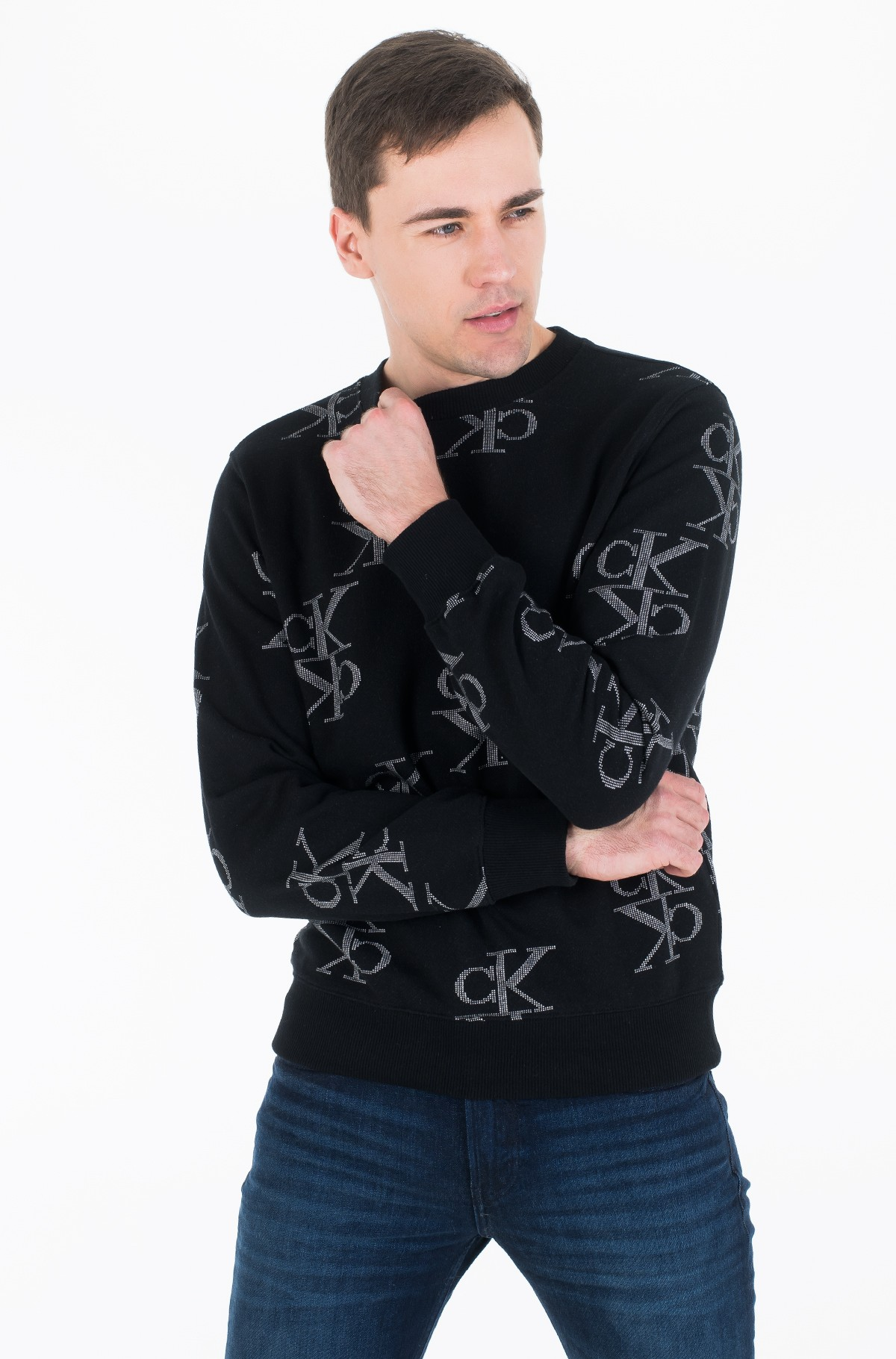 Hoodie AOP MIRRORED MONOGRAM CN-full-1