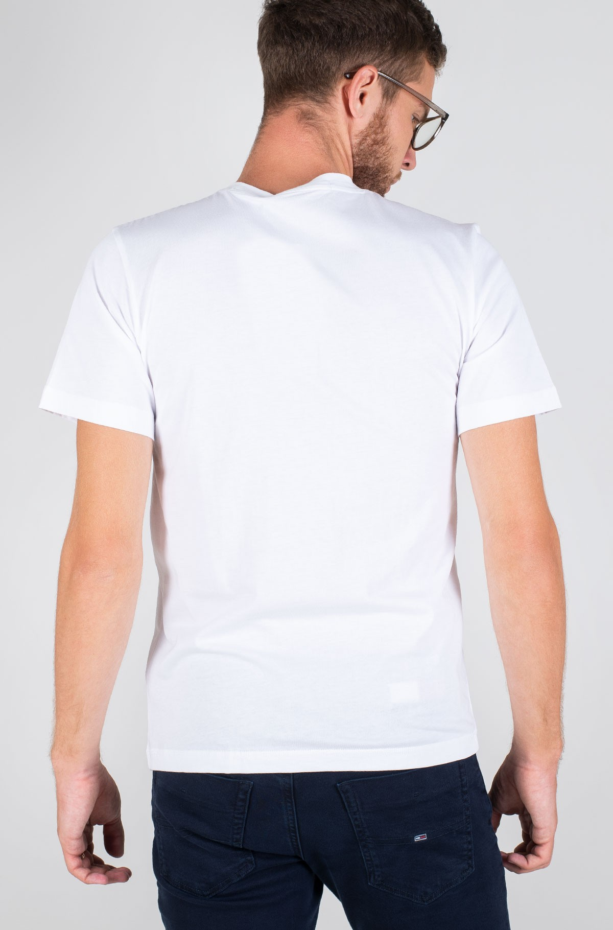 Marškinėliai MIRRORED MONOGRAM REG TEE-full-2