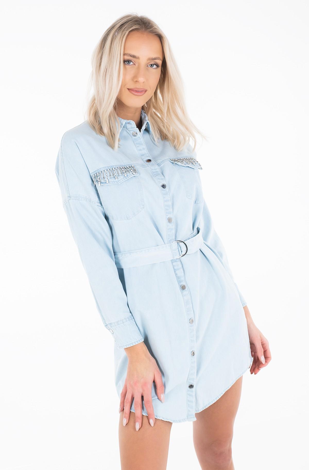 Denim dress W01K0S D32Q4-full-2
