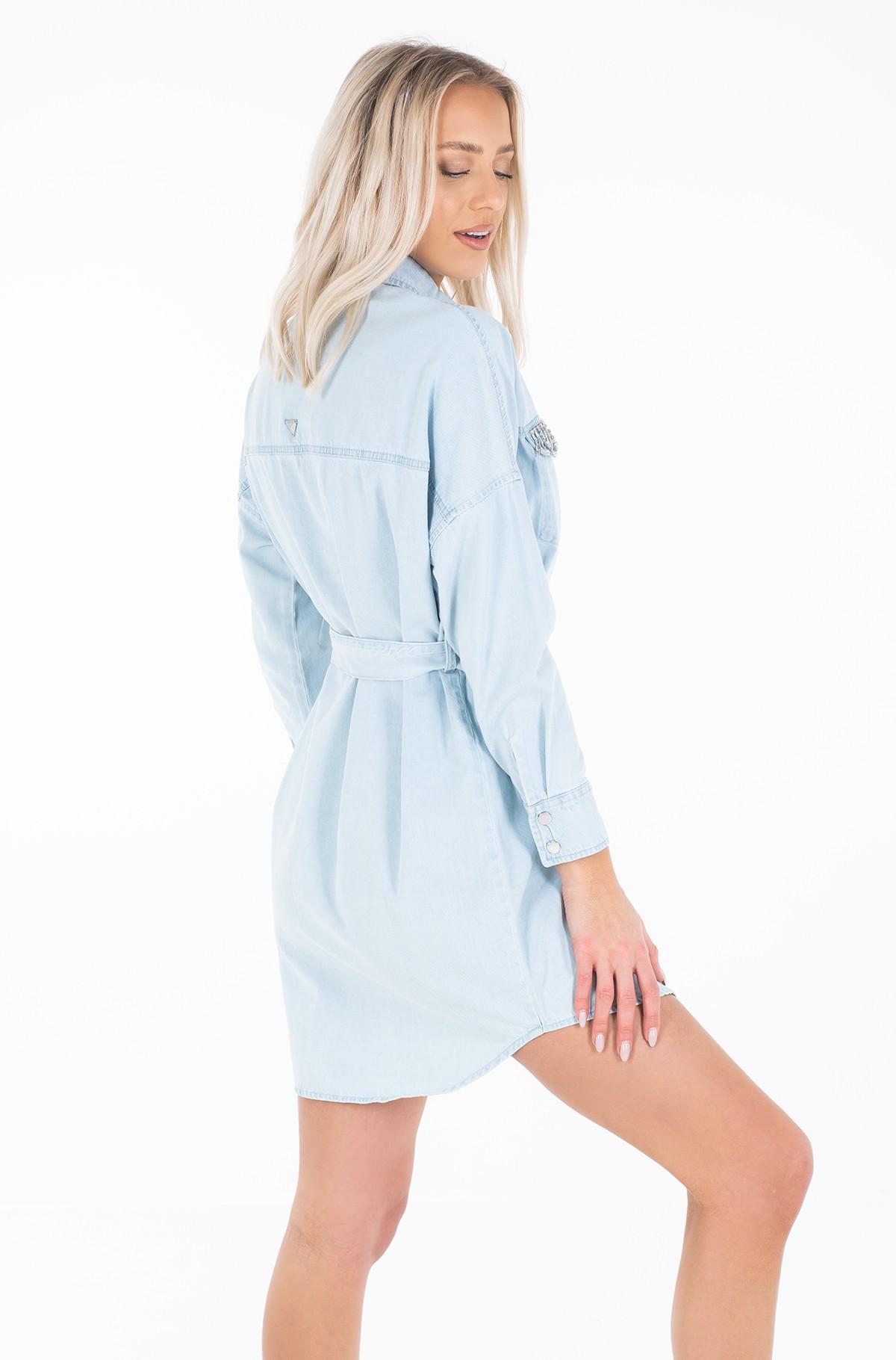 Denim dress W01K0S D32Q4-full-3