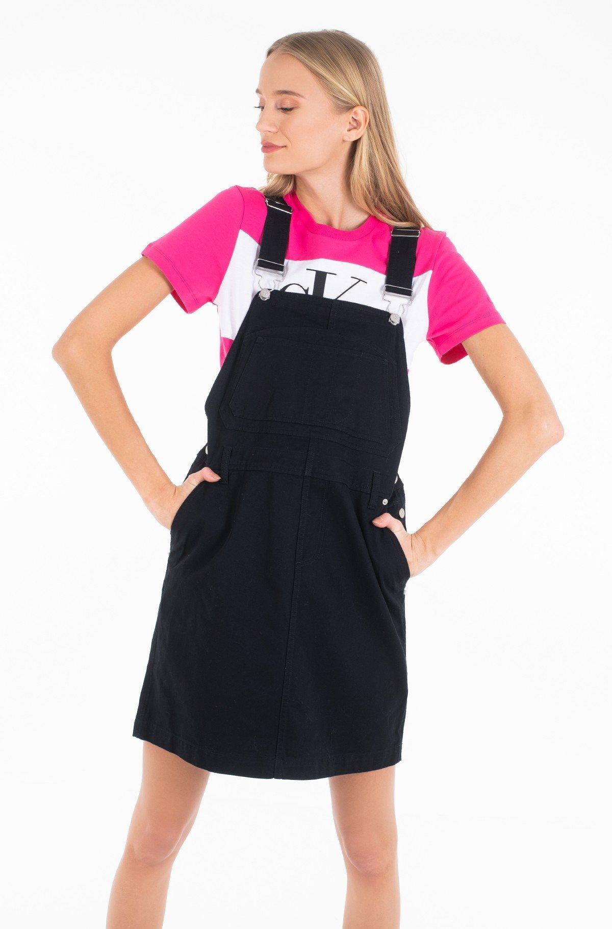 Traksikleit COTTON TWILL DUNGAREE DRESS-full-1