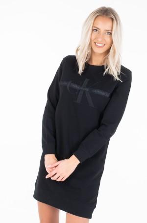 Sweatshirt dress TAPING THROUGH MONOGRAM DRESS-1